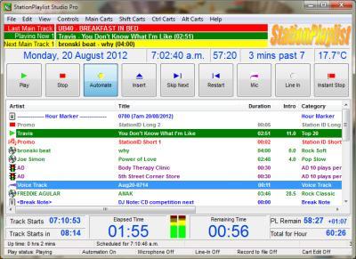 StationPlaylist Studio - Radio Automation Playout Software Studio ...