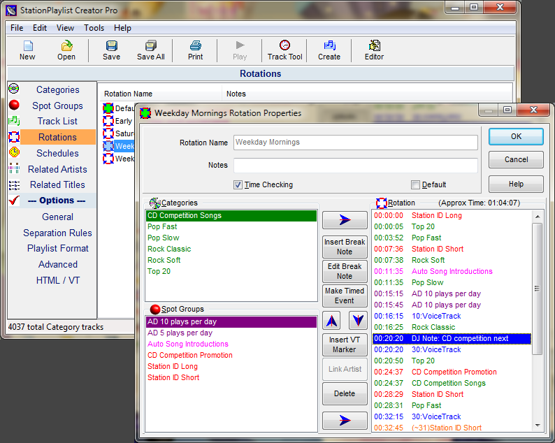 StationPlaylist Creator - Music Scheduling software